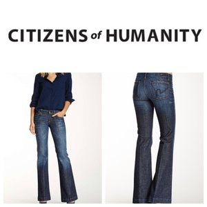 CITIZENS OF HUMANITY 'Faye' Wide Leg Trouser Jeans